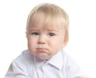 Criança pequena de grito imagens de stock