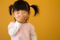 Criança pequena feliz Imagem de Stock