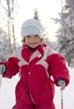 Criança pequena feliz Imagens de Stock