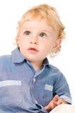 Criança pequena surpreendida Fotografia de Stock Royalty Free