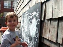 Criança pré-escolar Imagens de Stock Royalty Free