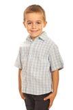 Criança pré-escolar de sorriso Imagens de Stock Royalty Free