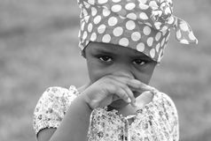 Criança preciosa Fotografia de Stock