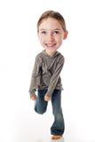 Criança principal grande engraçada Imagens de Stock Royalty Free