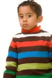 Criança que dá o olhar Fotos de Stock Royalty Free