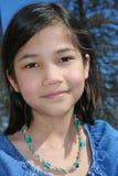 Criança que sorri ao ar livre Imagem de Stock