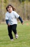 Criança Running Imagens de Stock Royalty Free