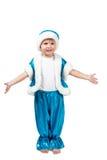 A criança Santa está pronta para abraçar Imagem de Stock
