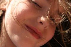 Criança sonhadora fotos de stock royalty free