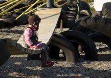 Criança sozinho Imagem de Stock