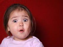 Criança surpreendida Imagem de Stock Royalty Free