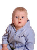 Criança surpreendida Fotos de Stock Royalty Free