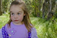 Criança surpreendida Imagens de Stock