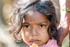 Criança tribal indiana Imagem de Stock Royalty Free