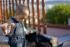 Criança triste Fotografia de Stock