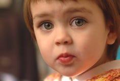 Criança triste Fotos de Stock
