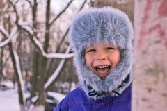 Criança vívida Fotografia de Stock Royalty Free
