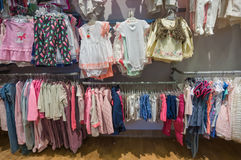 A criança veste a coleção Imagem de Stock Royalty Free
