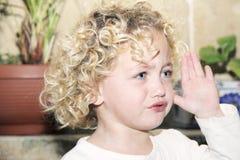 Criança virada Imagem de Stock