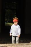 Criança virada Imagem de Stock Royalty Free