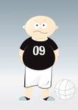 Crianças 1 do futebol ilustração do vetor