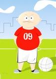 Crianças 2 do futebol Ilustração do Vetor