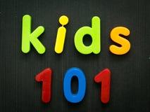 Crianças 101 Fotografia de Stock Royalty Free