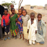 Crianças africanas - Ghana Imagem de Stock