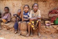Crianças africanas Foto de Stock