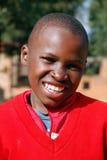 Crianças africanas que sofrem do vírus do SIDA na vila de Pom Fotografia de Stock Royalty Free