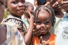 Crianças africanas rurais pobres 26 Imagens de Stock