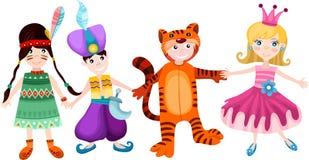 Crianças ajustadas Imagens de Stock Royalty Free