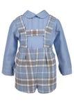 Crianças ajustadas da roupa Fotos de Stock