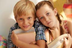 Crianças alegres Foto de Stock Royalty Free
