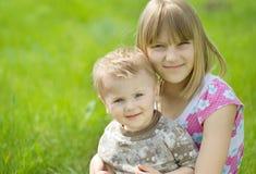 Crianças ao ar livre Imagens de Stock Royalty Free