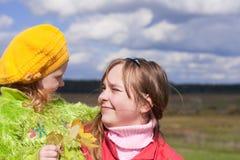Crianças ao ar livre Imagens de Stock