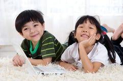 Crianças asiáticas Fotos de Stock Royalty Free
