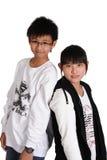 Crianças asiáticas foto de stock royalty free