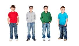 Crianças bonitas Foto de Stock Royalty Free
