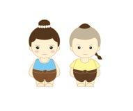 Crianças bonitos de Tailândia Foto de Stock