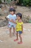 Crianças cambojanas Fotos de Stock