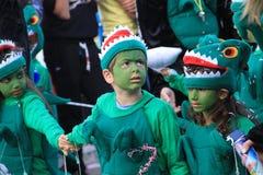Crianças. Carnaval em Chipre. Fotos de Stock Royalty Free