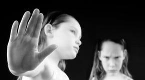 Crianças com atitude Imagens de Stock
