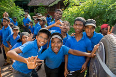 Crianças da caridade Fotografia de Stock