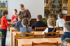 Crianças da escola da escola primária Fotografia de Stock