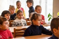 Crianças da escola da escola primária Fotografia de Stock Royalty Free