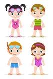 Crianças da piscina Fotografia de Stock