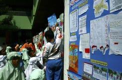 CRIANÇAS DA POPULAÇÃO DE INDONÉSIA Imagem de Stock Royalty Free