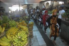 CRIANÇAS DA POPULAÇÃO DE INDONÉSIA Fotografia de Stock