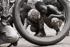 Crianças da rua Fotos de Stock Royalty Free